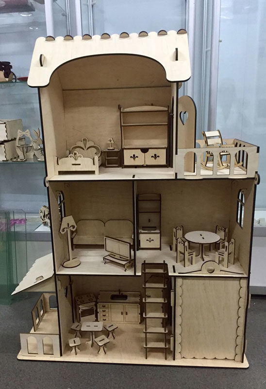 Кукольный домик 6